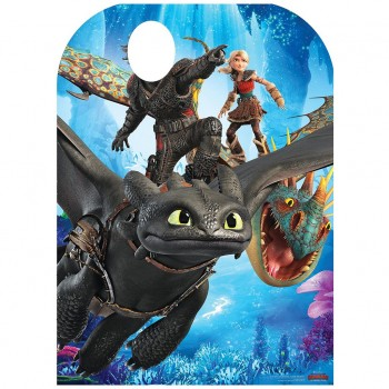HTTYD3 Hiccup Stand In Cardboard Cutout