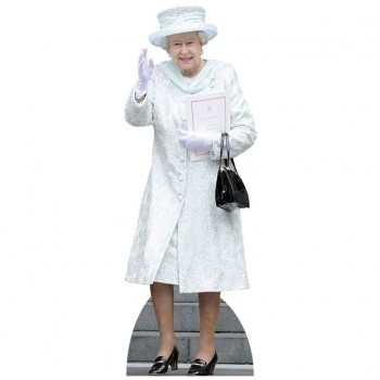 HRM The Queen Cardboard Cutout