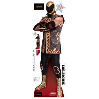 Tinieblas Junior Luchadore Cardboard Cutout - $44.95