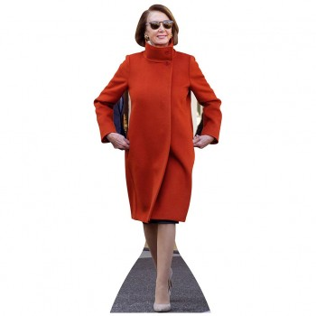 Speaker Pelosi Red Coat w Sunglasses Cardboard Cutout - $44.95