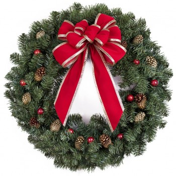 Christmas Wreath Cardboard Cutout - $44.95