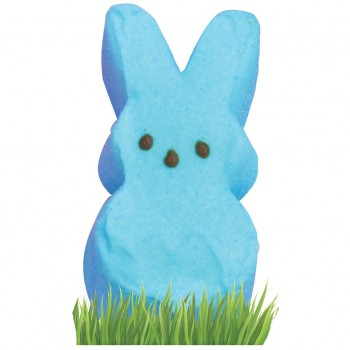 Blue Marshmallow Bunny Cardboard Cutout