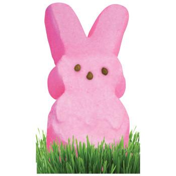 Pink Marshmallow Bunny Cardboard Cutout