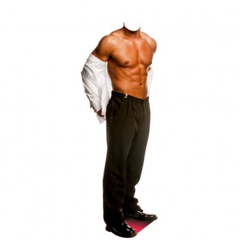 Chippendale Stand In Cardboard Cutout
