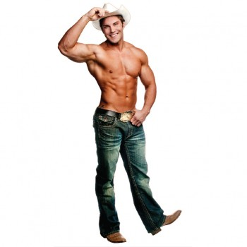 Chippendale Cowboy Cardboard Cutout