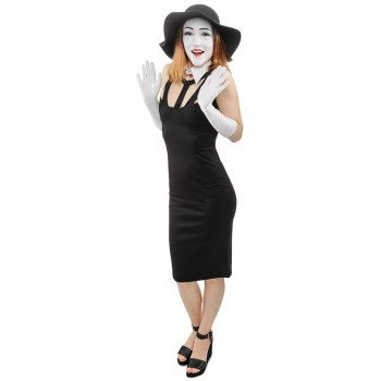 Female Mime Cardboard Cutout - $44.95