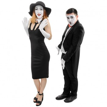 Mime Couple Cardboard Cutout - $44.95