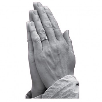 Praying Hands Cardboard Cutout - $44.95