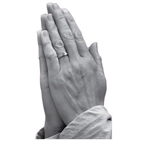Praying Hands Cardboard Cutout