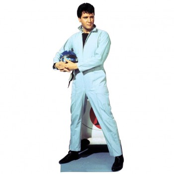 Elvis Race Car Driver Cardboard Cutout - $44.95