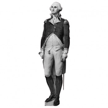 President Washington Cardboard Cutout