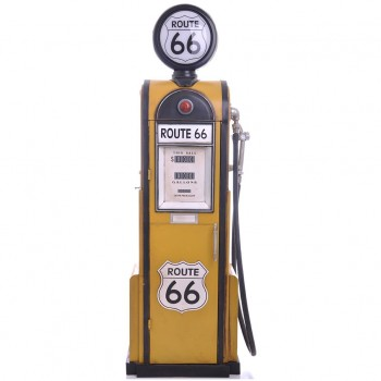 ROUTE 66 Gas Pump Cardboard Cutout - $44.95