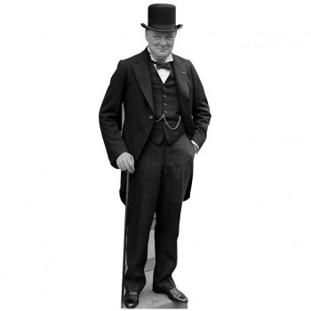 Sir Winston Churchill Cardboard Cutout