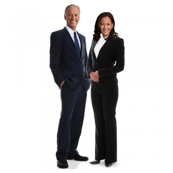 Kamala Harris and Joe Biden 2020 Cardboard Cutout - $0.00