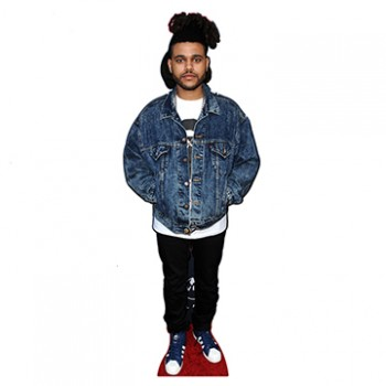 The Weeknd Cardboard Cutout