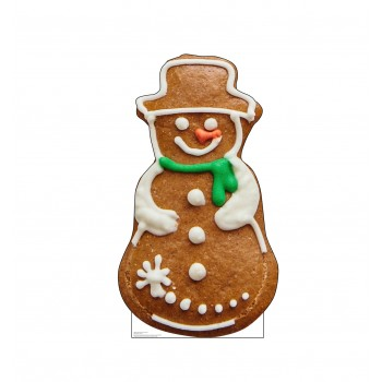 Gingerbread Snowman Cookie