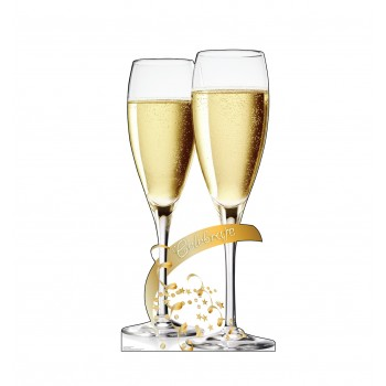 Celebrate Champagne Glasses - $39.95