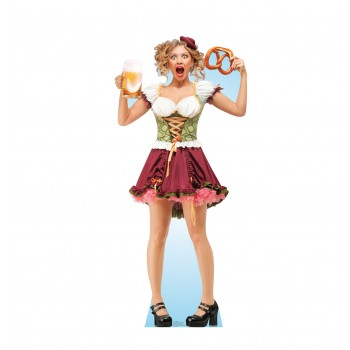 Bar Maid Pretzel