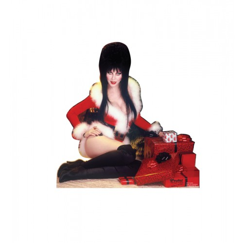 Elvira Christmas Mini Standee