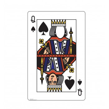 Queen of Spades Standin - $39.95