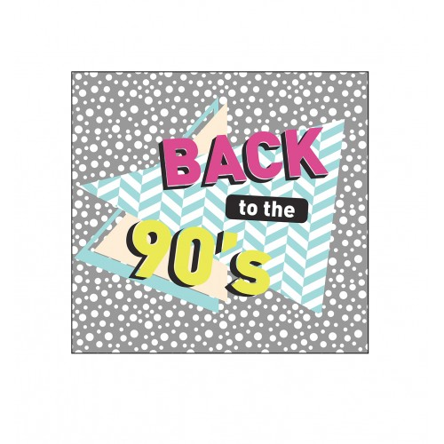 90's Backdrop Double Wide
