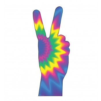 70's Peace Fingers