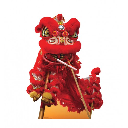 Chinese New Year Red Dragon