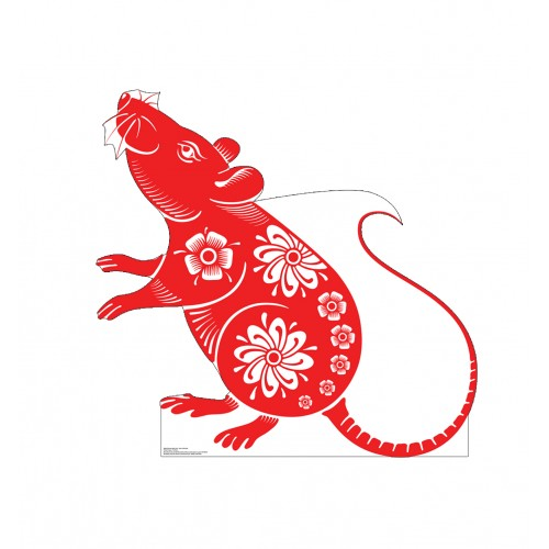 Chinese New Year - Year of The Rat Standee