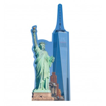 New York Skyline Standee - $69.95