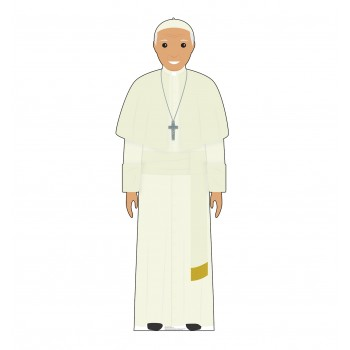 Pope White Outfit (Illustrated) - $39.95