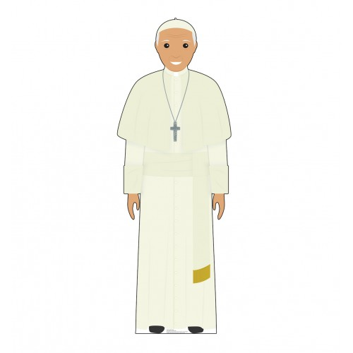 Pope White Outfit (Illustrated)