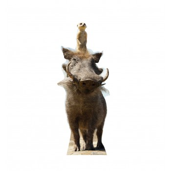 Timon and Pumbaa (Disney's The Lion King Live Action) - $39.95