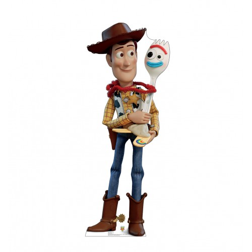 Woody & Forky (Disney/Pixar Toy Story 4)
