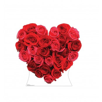 Red Roses Heart - $39.95