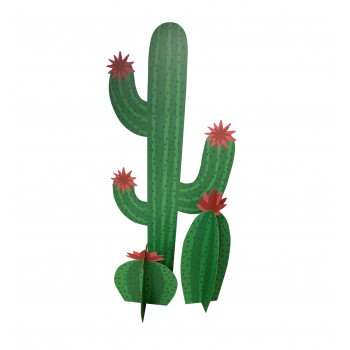 Cactus Grouping (Standee, two 3D cactus) - $39.95