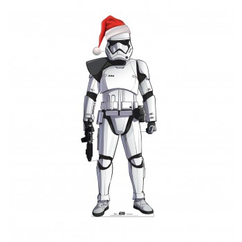 Stormtrooper Holiday Outdoor Standee