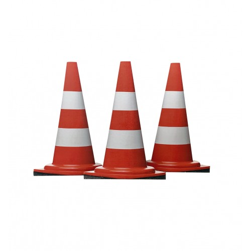 Construction Cones (Set of Three)