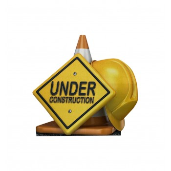 Under Construction Sign - $39.95