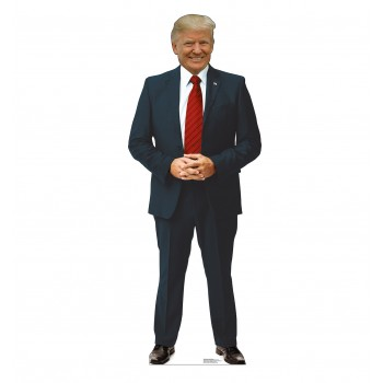 President Donald Trump Red Tie