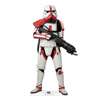 Incinerator Trooper (The Mandalorian Disney/Lucas Films) - $39.95