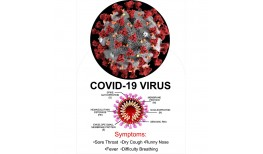 Local Business Spreading Awareness About The Corona Virus