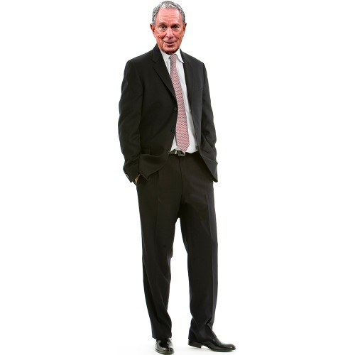 Mike Bloomberg Cardboard Cutout