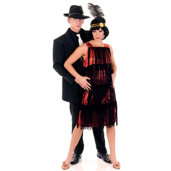 Roaring 20s Couple Cardboard Cutout