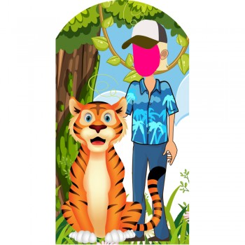 Tiger King Cartoon Stand-In Cardboard Cutout - $49.95