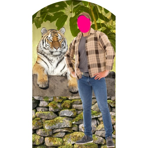 Tiger King Stand-In Cardboard Cutout