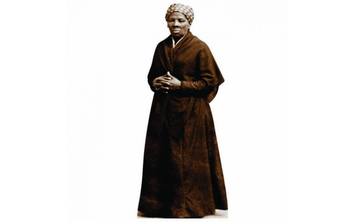 Harriet Tubman Cutout Wall Graphic or Shelf Buddy