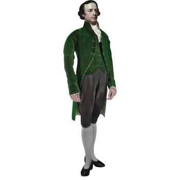 Isaac Barre Founder of Wilkes-Barre Cardboard Cutout - $0.00
