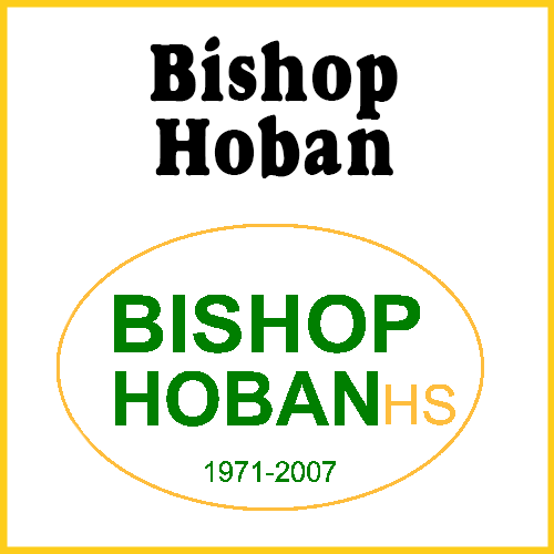 Bishop Hoban High School Bumper Sticker