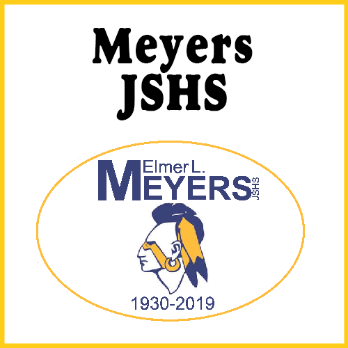Elmer L Meyers High School Bumper Sticker