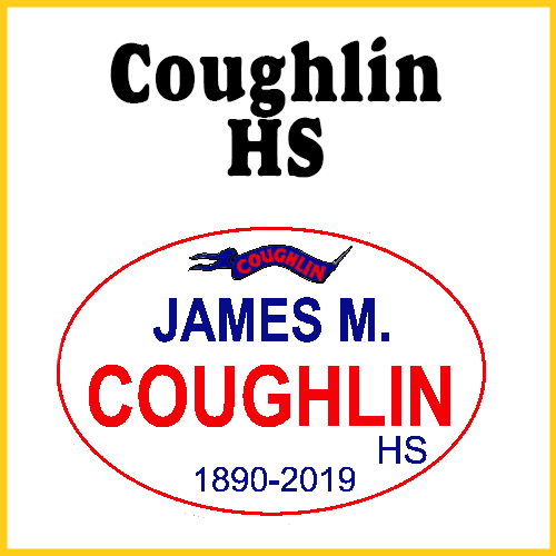 James M. Coughlin High School Bumper Sticker